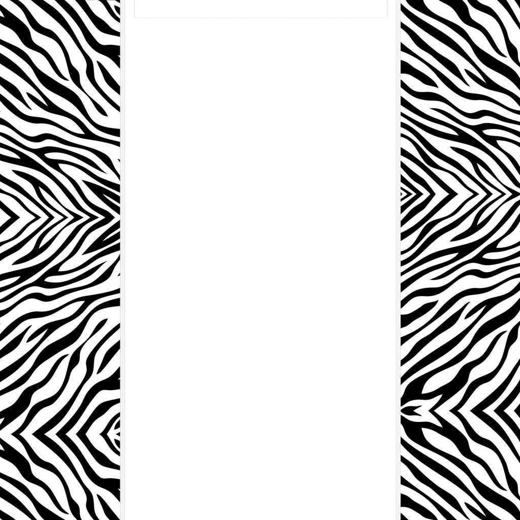 Free Download Image Luxury Zebra Print Wall Border 650 650