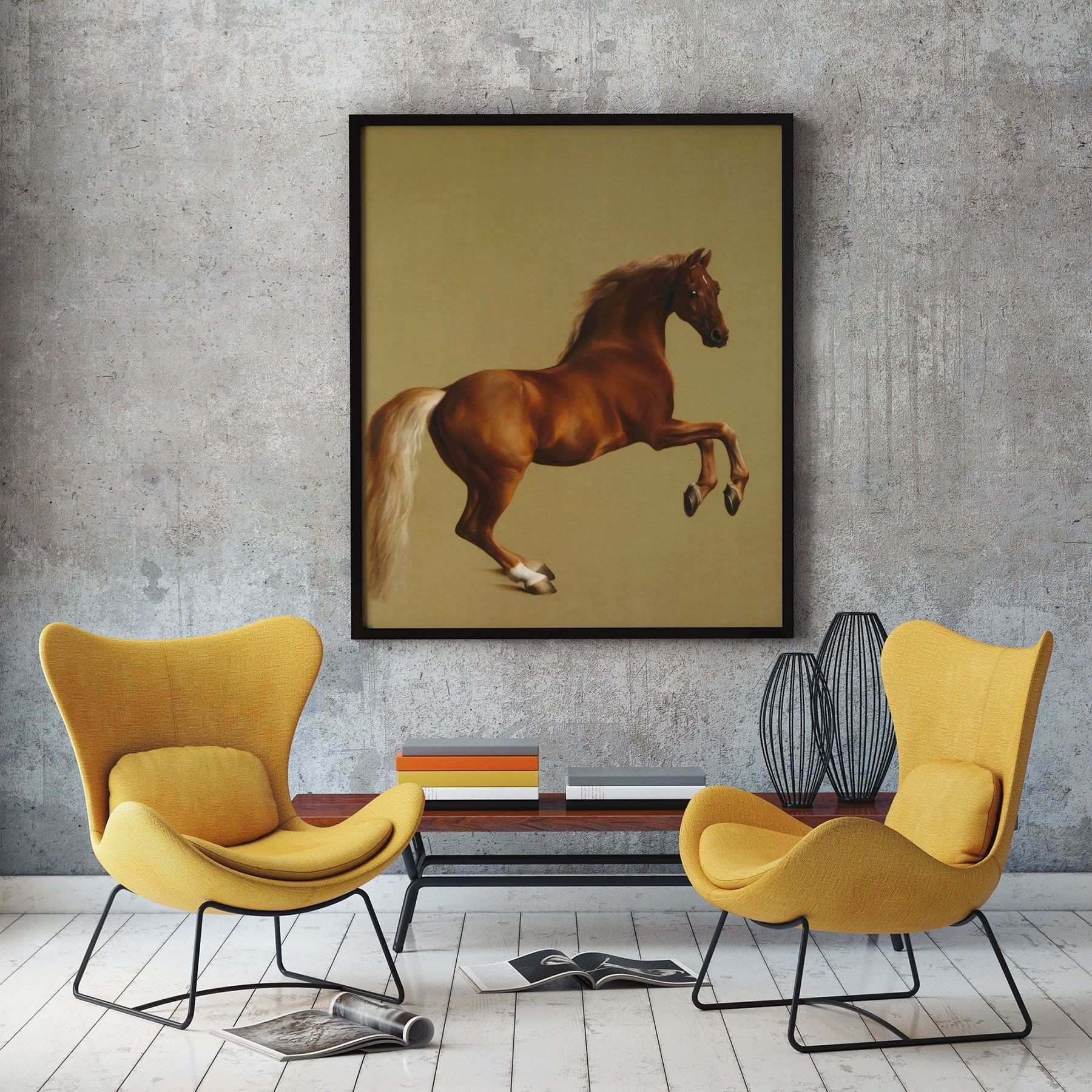 Whistle Jacket by George Stubbs Horse Painting Horse Poster Horse
