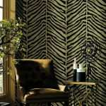 Zebra Prints for Walls Fresh Echo Design Tailored Zebra Black & Beige Wallpaper